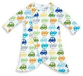 I Play Brights Size 6M Organic Cotton Muslin Car Gown in Royal Blue