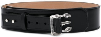 Acne Studios side-release buckle leather belt