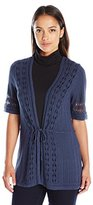 Pendleton Women's Petite Lindsay Cardi Sweater