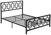 Gdfstudio Dawn Modern Iron Queen Bed Frame