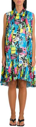Balenciaga Pleated Paris Dress