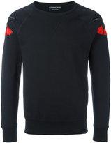 Alexander McQueen embroidered sweatshirt - men - Cotton - L