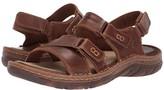 Børn Custer (Brown Full Grain Leather) Men's Shoes