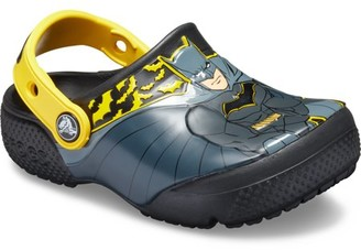 Crocs Boys' Child Fun Lab Iconic Batman Clog (Ages 1-6)