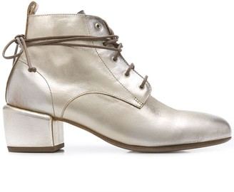 Marsèll Lace-Up Low-Heel Boots