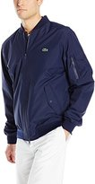 Lacoste Men's Lightweight Nylon Bomber Jacket