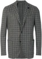 Lardini classic textured blazer - men - Silk/Nylon/Polyester/Wool - 50
