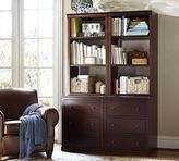 Pottery Barn Logan Modular Bookcase with Drawers