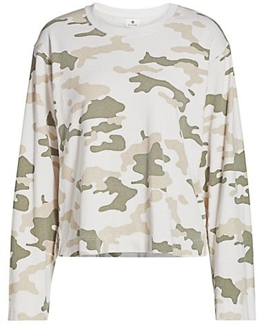 Thumbnail for your product : Sundry Camo Boxy Sweatshirt