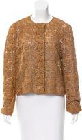 Prada Metallic Lace Jacket