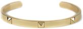Mister Gold Gold Stud Cuff Bracelet