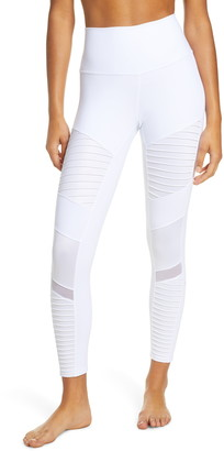 Alo High Waist Moto 7/8 Leggings