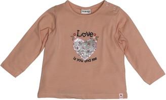 Salt&Pepper Salt and Pepper Baby Girls' B Longsleeve Love uni Herz T-Shirt