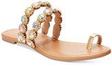 Thalia Sodi Joya Toe-Ring Flat Sandals, Only at Macy's