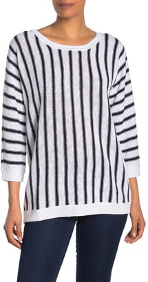 Tommy Bahama Marina Vertical Stripe Top