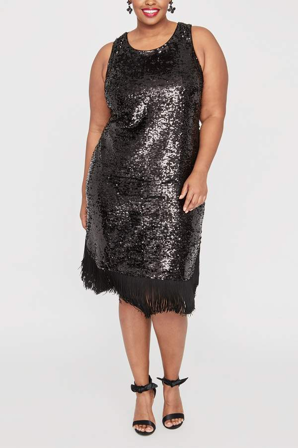 Plus Size Fringe Dress - ShopStyle