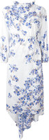 Vetements floral print midi dress - women - Polyamide/Spandex/Elastane - S