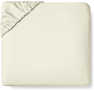 Sferra Fiona Fitted Sheet - Ivory Cal King