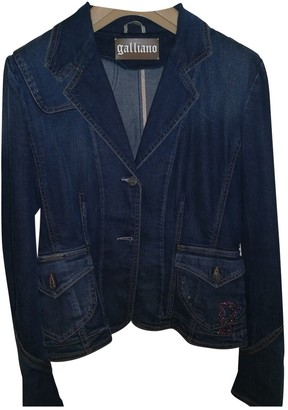 Galliano Blue Denim - Jeans Jacket for Women