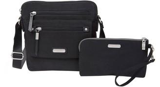 Baggallini Escape RFID Crossbody Handbag withWristlet