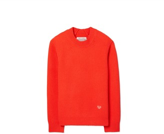 Tory Burch Ribbed Merino Sweater