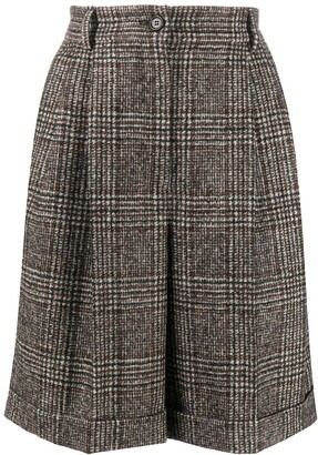 Dolce & Gabbana Prince of Wales check shorts