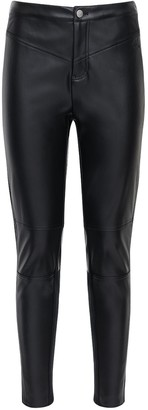 Calvin Klein Jeans Stretch Faux Leather Leggings