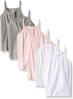 Burt's Bees Little Girls' Set of 6 Organic Camisoles