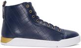 Diesel Blue Diamond High-Top Sneakers