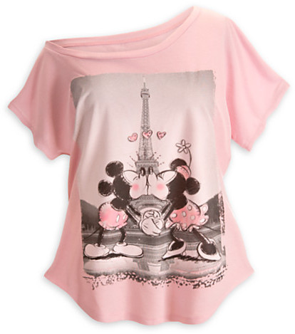 Disney Mouse Off the Shoulder Tee for Women