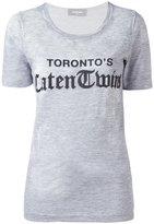 DSQUARED2 Toronto's Caten Twins T-shirt - women - Cotton/Viscose - XS