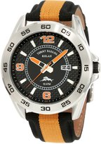 Tommy Bahama RELAX Men's RLX1137 Bridgetown Orange & Blue Analog Nylon Strap Watch
