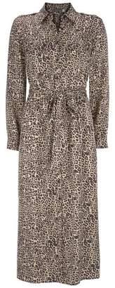 Mint Velvet Philippa Ecru Midi Shirt Dress