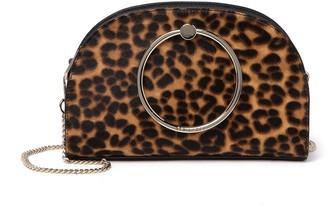 Ted Baker Liona Genuine Calf Hair & Leather Leopard Crossbody Bag