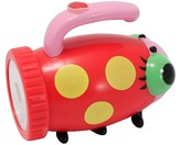 Melissa & Doug Sunny Patch Mollie Ladybug Flashlight With Easy-Grip Handle