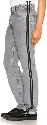 Helmut Lang Masc Hi Straight Jeans in Concrete Stone | FWRD