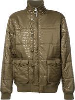 PRPS funnel neck padded jacket