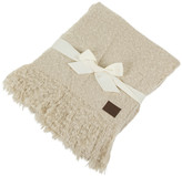 UGG Luxe Mohair Throw - Bone