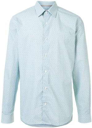 Gieves & Hawkes Point-Collar Monogram Shirt