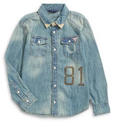 Guess Studded 81 Denim Shirt