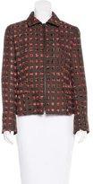 Akris Punto Wool Patterned Jacket