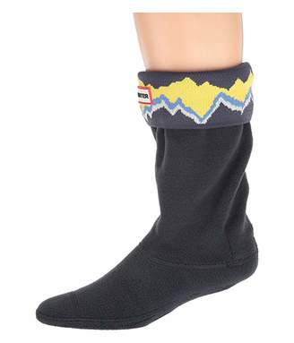 Hunter Storm Stripe Knitted Cuff Boot Sock (Toddler/Little Kid/Big Kid)