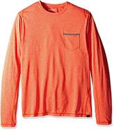 Hawke & Co Men's Long Sleeve Pocket T-Shirt