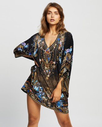 Camilla Bat Sleeve Dress
