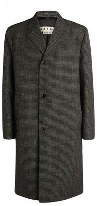 Marni Virgin Wool Tailored Overcoat