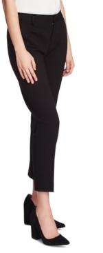 Vince Camuto Petite Tech Ponte-Knit Slim-Leg Ankle Pants
