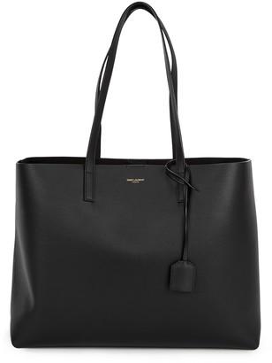 Saint Laurent Black leather tote