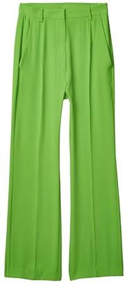 MM6 MAISON MARGIELA Classic Trousers (Apple Green) Women's Casual Pants