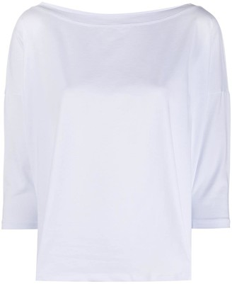 Snobby Sheep Boat Neck Top