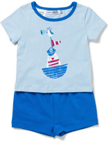 David Jones Baby Boys Sleep Set - Blue Nautical